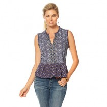 1 Pallet of Lucky Brand Printed Tops (Lot 93112101), New Condition (LQW), 419 Units, Ext. Retail $29,121, Roanoke, VA