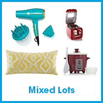 3 Pallets of Towels, Hand Blenders & More by Joy Mangano & More (Lot 56633), Red Condition (LQR), 174 Units, Ext. Retail $13,450, St. Petersburg, FL