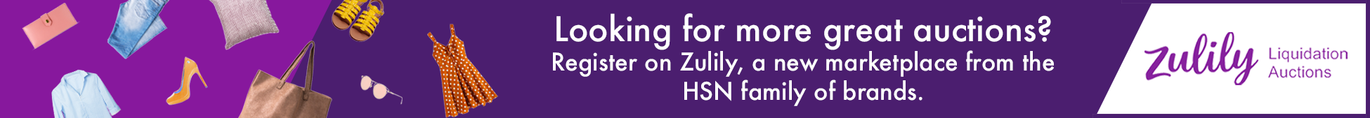 Zulily Liquidation Auctions Launch More from the HSN Family